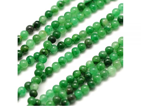 Acheter Lot de 50 perles naturelles 2 mm - Jade verte - 3,49€ en ligne sur La Petite Epicerie - Loisirs créatifs