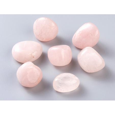 Acheter 1 pierre naturelle 28 mm - Quartz rose - 0,99€ en ligne sur La Petite Epicerie - Loisirs créatifs