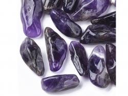Acheter 1 pierre naturelle 12 mm - Améthyste - 1,49€ en ligne sur La Petite Epicerie - Loisirs créatifs