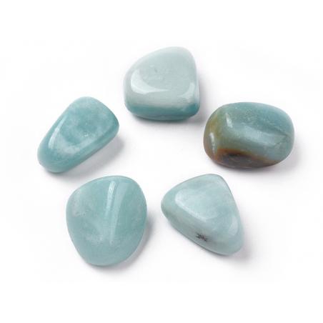 Acheter 1 pierre naturelle 22 mm - Amazonite - 0,99€ en ligne sur La Petite Epicerie - Loisirs créatifs
