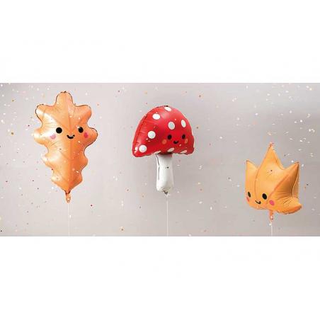 Acheter Ballon en aluminium - feuille de chêne - 7,39€ en ligne sur La Petite Epicerie - Loisirs créatifs