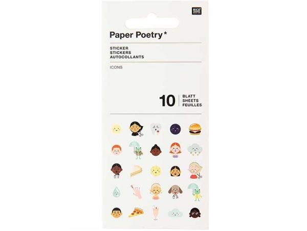 Acheter Stickers autocollants - Emojis - 7,29€ en ligne sur La Petite Epicerie - Loisirs créatifs