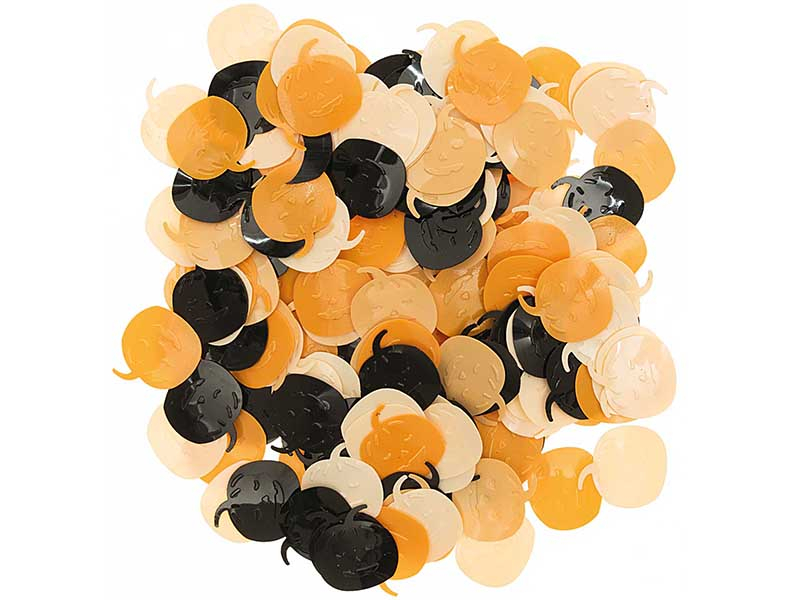Acheter 200 confettis - Citrouille - 2,49€ en ligne sur La Petite Epicerie - Loisirs créatifs