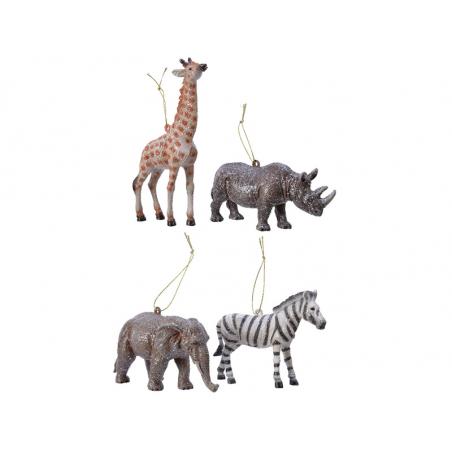 Acheter Boule de Noël - rhinocéros - 3,99€ en ligne sur La Petite Epicerie - Loisirs créatifs