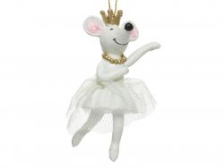 Acheter boule de noël suspension petite souris qui danse - un bras levé - 4,49€ en ligne sur La Petite Epicerie - Loisirs cr...