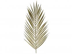 Acheter Feuille séchée décorative - branche fougère à paillettes dorées - 4,49€ en ligne sur La Petite Epicerie - Loisirs cr...