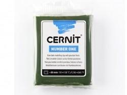 Pâte CERNIT Basic Number One - Vert Olive