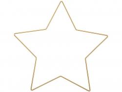 Acheter Etoile métallique dorée - 30 cm - 5,19€ en ligne sur La Petite Epicerie - Loisirs créatifs