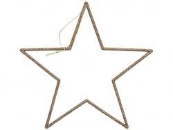 Acheter Grande étoile pailletée à accrocher - 24,5 cm - 4,19€ en ligne sur La Petite Epicerie - Loisirs créatifs