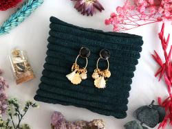 Acheter Les petites fioles créatives - Boucles d'oreilles astro - Noir - 14,99€ en ligne sur La Petite Epicerie - Loisirs cr...
