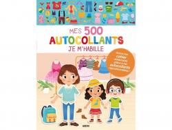 Acheter Cahier Mes 500 autocollants - Je m'habille - 7,95€ en ligne sur La Petite Epicerie - Loisirs créatifs
