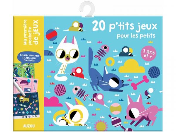 Acheter 20 p'tits jeux pour les petits - 5,95€ en ligne sur La Petite Epicerie - Loisirs créatifs