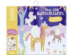 Acheter Mes 200 autocollants - Licornes et chevaux - 4,95€ en ligne sur La Petite Epicerie - Loisirs créatifs