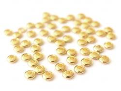 Acheter Lot de 50 perles intercalaires toupies - couleur or - 0,99€ en ligne sur La Petite Epicerie - Loisirs créatifs