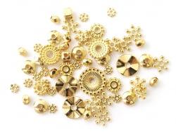 Acheter Lot de 10 grammes soit 40 pcs env d'intercalaires dorées pour perles heishi - 1,99€ en ligne sur La Petite Epicerie ...