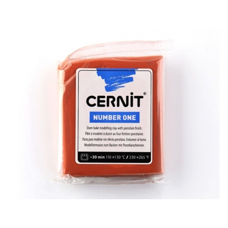 CERNIT clay Basic Number One - terracotta