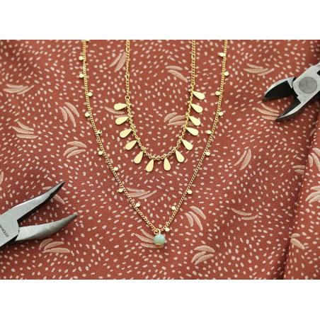 Acheter Chaîne très fine figaro - doré à l'or fin 18K x 20 cm - 2,99€ en ligne sur La Petite Epicerie - Loisirs créatifs