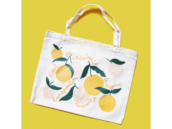 Acheter Tote Bag de La Petite Epicerie AGRUMES - 9,99€ en ligne sur La Petite Epicerie - Loisirs créatifs