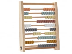 Acheter Abaque multicolore en bois - 31,99€ en ligne sur La Petite Epicerie - Loisirs créatifs