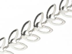 Acheter Chaine épi évidée - plaqué argent x 20 cm - 1,29€ en ligne sur La Petite Epicerie - Loisirs créatifs