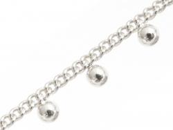 Acheter Chaine perles rondes - plaqué argent x 20 cm - 4,49€ en ligne sur La Petite Epicerie - Loisirs créatifs