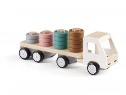 Acheter Camion avec anneaux en bois - Aiden - 38,99€ en ligne sur La Petite Epicerie - Loisirs créatifs