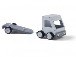 Acheter Camion avec formes en bois - Aiden - 38,99€ en ligne sur La Petite Epicerie - Loisirs créatifs