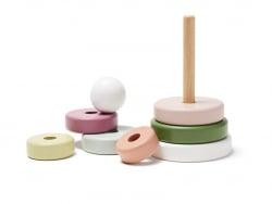 Acheter Anneaux superposables en bois - Edvin - 22,99€ en ligne sur La Petite Epicerie - Loisirs créatifs