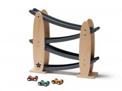 Acheter Circuit en bois nature/gris - Aiden - 36,49€ en ligne sur La Petite Epicerie - Loisirs créatifs
