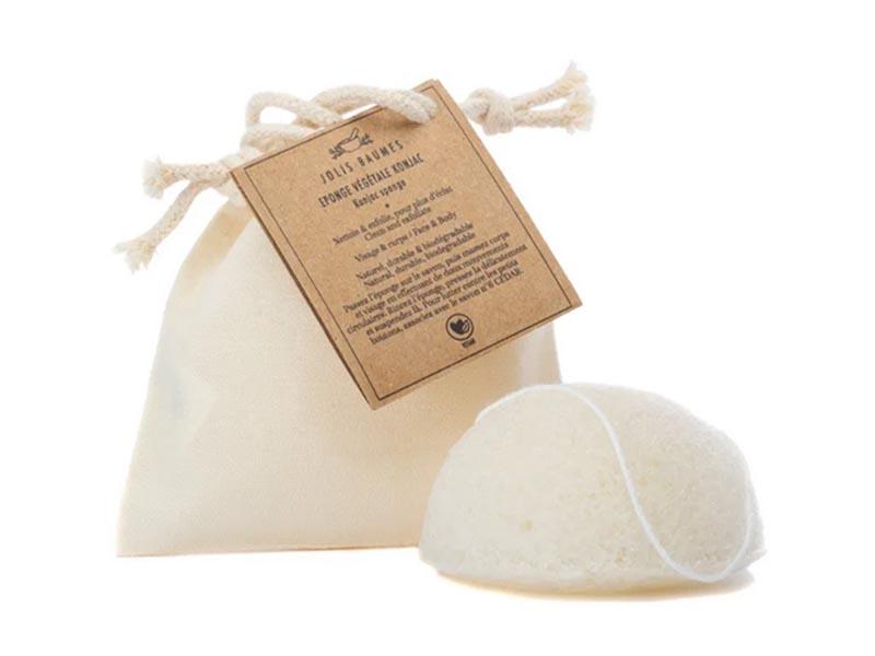 Acheter Eponge Konjac emballée dans un sac en coton - 11,49€ en ligne sur La Petite Epicerie - Loisirs créatifs