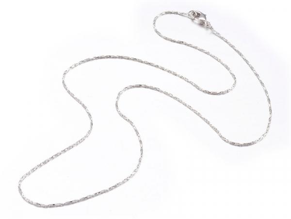 Acheter Collier 44,5 cm - chaîne serpentine - flash argent - 3,59€ en ligne sur La Petite Epicerie - Loisirs créatifs