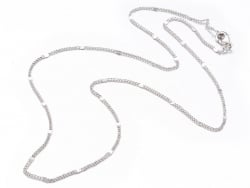 Acheter Collier 44,5 cm - chaîne nuage - flash argent - 3,59€ en ligne sur La Petite Epicerie - Loisirs créatifs