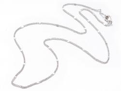 Acheter Collier 44,5 cm - chaîne nuage - plaqué platine - 3,59€ en ligne sur La Petite Epicerie - Loisirs créatifs