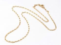 Acheter Collier 44,5 cm - chaîne fantaisie - doré à l'or fin 18K - 3,59€ en ligne sur La Petite Epicerie - Loisirs créatifs