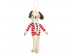 Acheter 1 Décoration arbre de Noël Chien tricoté - 12,49€ en ligne sur La Petite Epicerie - Loisirs créatifs