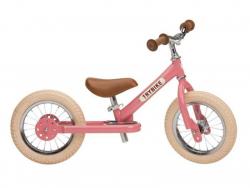 Acheter Pack vélo 2 en 1 : draisienne transformable en tricycle vintage rose - Trybike - 138,99€ en ligne sur La Petite Epic...