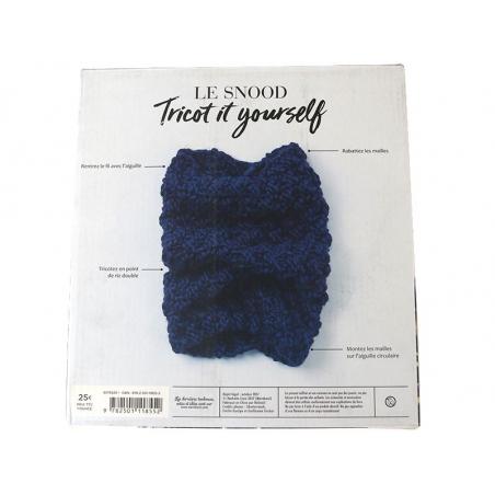Acheter Coffret livre Tricot it yourself : le snood - 25,00€ en ligne sur La Petite Epicerie - Loisirs créatifs