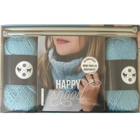 Acheter Coffret livre Happy snood - 14,95€ en ligne sur La Petite Epicerie - Loisirs créatifs