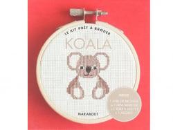 Acheter Livre / Kit prêt à broder - Koala - 5,95€ en ligne sur La Petite Epicerie - Loisirs créatifs
