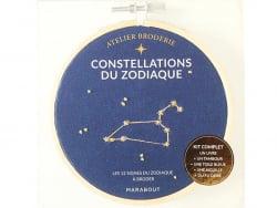 Acheter Livre / Atelier broderie - Constellations du zodiaque - 9,95€ en ligne sur La Petite Epicerie - Loisirs créatifs