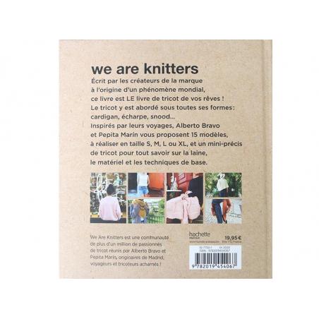 Acheter Livre We are knitters - A. Bravo et P. Merin - 19,95€ en ligne sur La Petite Epicerie - Loisirs créatifs