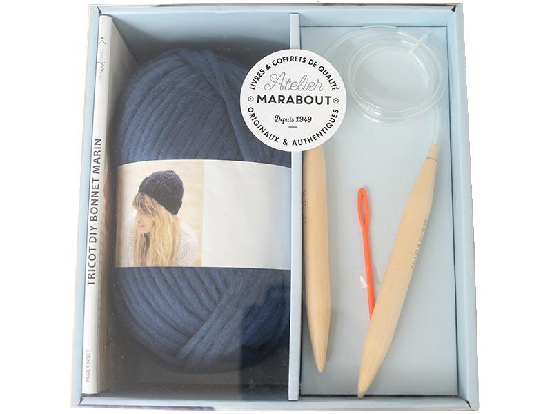 Acheter Coffret bonnet marin à tricoter - 25,00€ en ligne sur La Petite Epicerie - Loisirs créatifs
