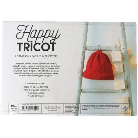Acheter Coffret Happy tricot - 15,90€ en ligne sur La Petite Epicerie - Loisirs créatifs