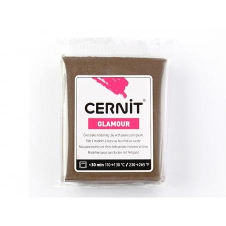 Acheter Pâte CERNIT Glamour - Bronze - 1,89€ en ligne sur La Petite Epicerie - Loisirs créatifs