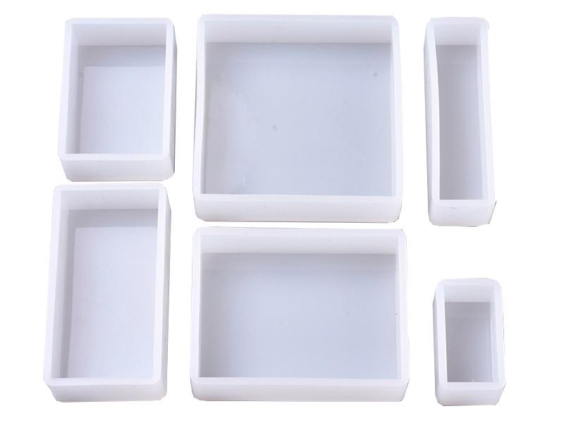 Acheter Lot de 6 moules en silicone - Carré et rectangle - 16,49€ en ligne sur La Petite Epicerie - Loisirs créatifs