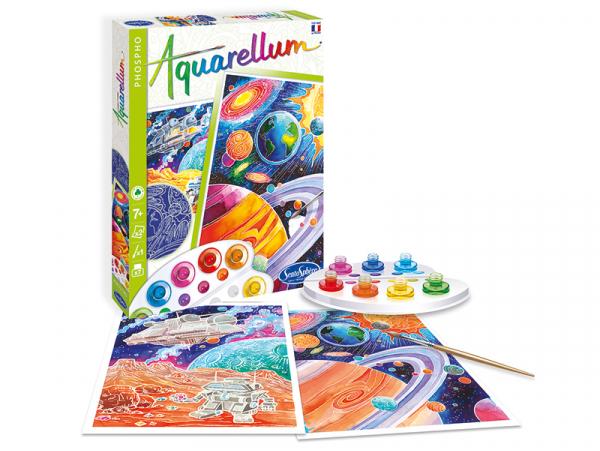 Acheter Coffret aquarellum phospho - cosmos - 15,99€ en ligne sur La Petite Epicerie - Loisirs créatifs