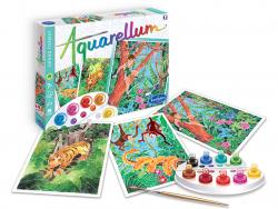 Acheter Aquarellum - livre de la jungle - 13,96€ en ligne sur La Petite Epicerie - Loisirs créatifs