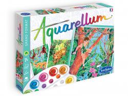 Acheter Aquarellum - livre de la jungle - 15,99€ en ligne sur La Petite Epicerie - Loisirs créatifs