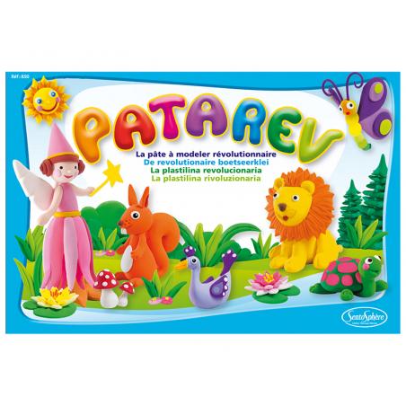 Acheter Patarev - coffret de 6 pots de 18 g de pâte à modeler - 12,99€ en ligne sur La Petite Epicerie - Loisirs créatifs
