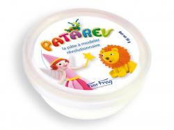 Acheter Pot de 30 g de pâte à modeler PATAREV Blanc - 2,99€ en ligne sur La Petite Epicerie - Loisirs créatifs